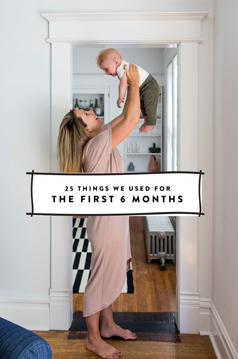 The 25 Things We Used in the first 6 months for baby | Essential items for Registry | The Fresh Exchange