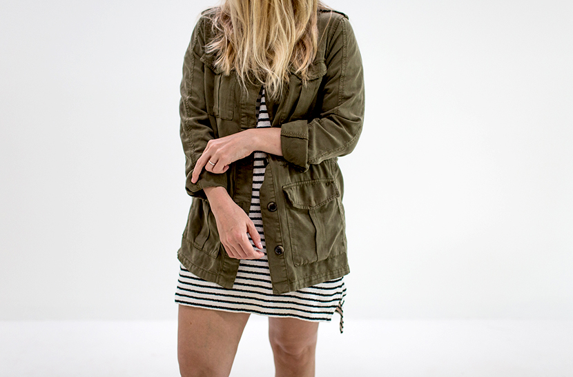 3 Ways to Wear an Army Jacket | The Fresh Exchange