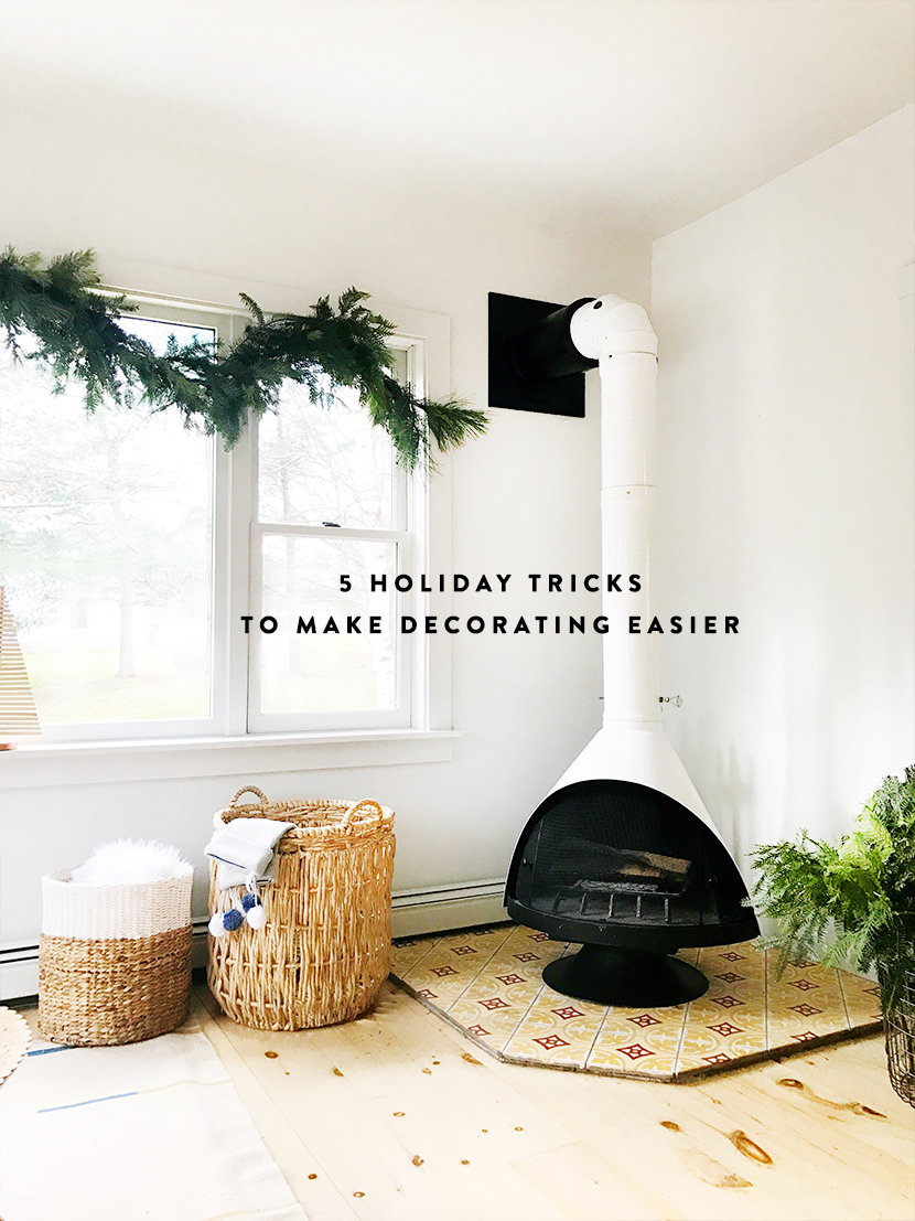 Here are 5 hacks to Make Your Holiday Decorating Easier | The Fresh Exchange