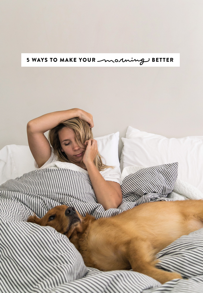 5 Ways to Make Your Morning Better  |  The Fresh Exchange