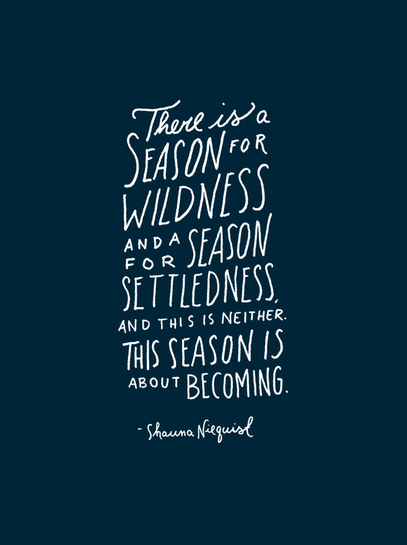 Monday Words: Season for Becoming | The Fresh Exchange