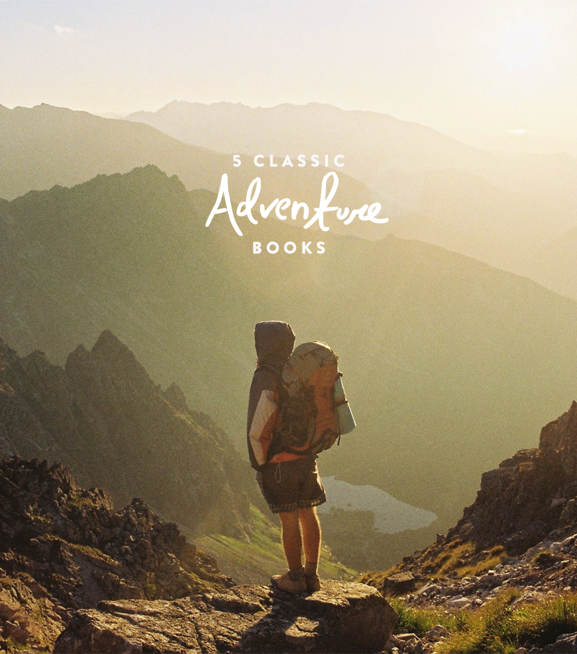 5 Classic Adventure Books to Read  |  The Fresh Exchange