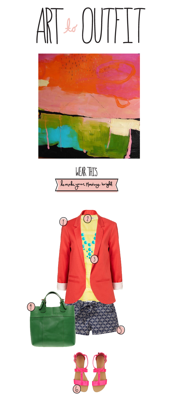 Art to Outfit, Office attire, wardrobe inspiration