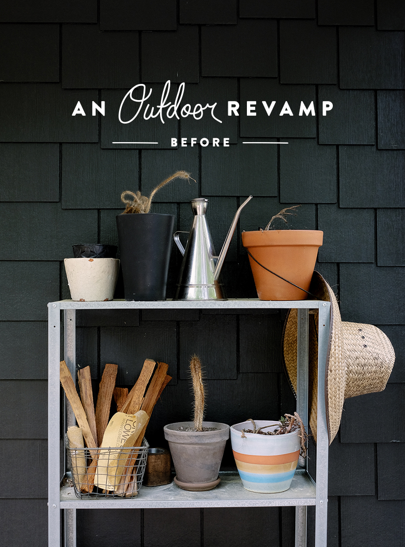 An Outdoor Revamp with At Home: Before | The Fresh Exchange