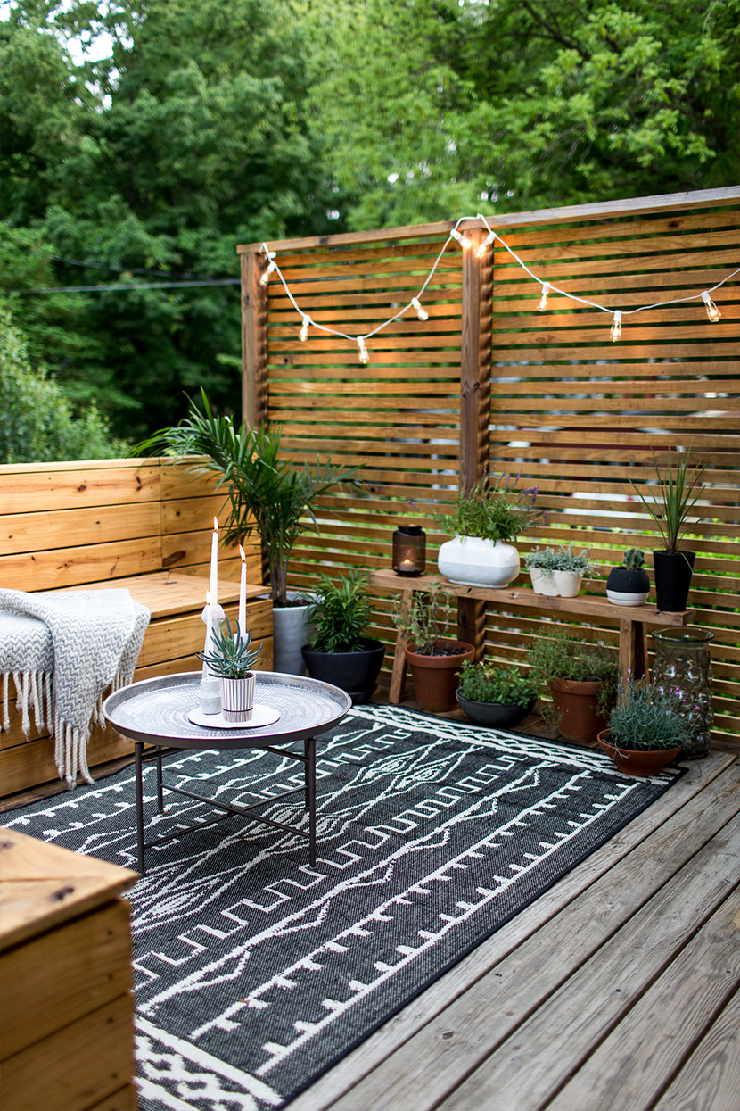 Beau An Outdoor Revamp With At Home : The Final Look | The Fresh Exchange