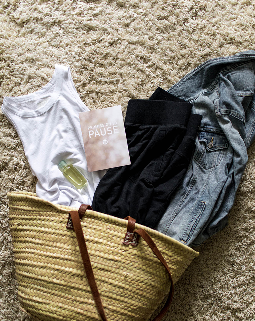 Permission to Pause with @Athleta on The Fresh Exchange.