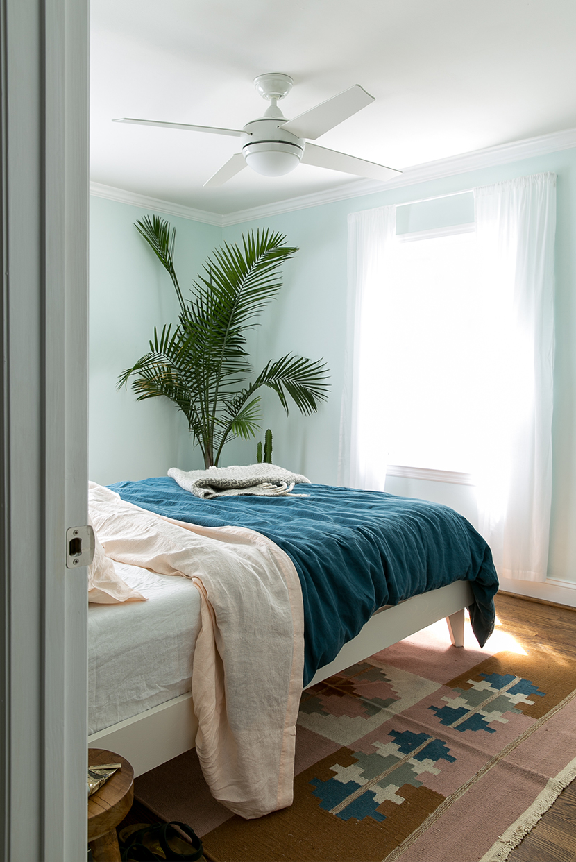 blue green bedroom a finished master bedroom with behr the fresh exchange blue green