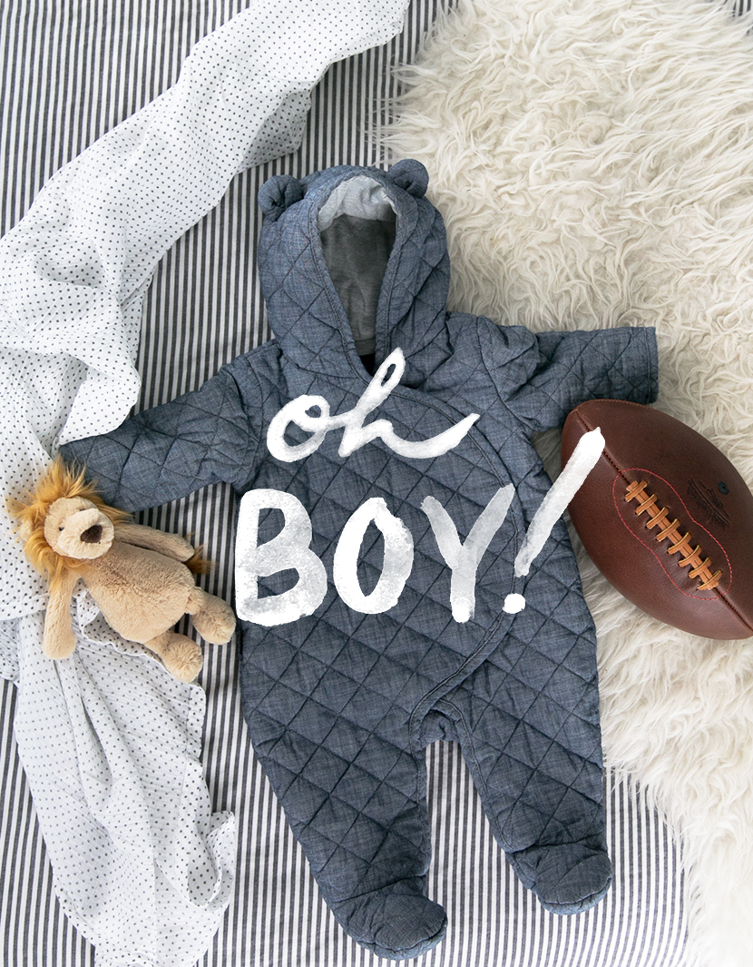 And it's a... BOY! | The Fresh Exchange