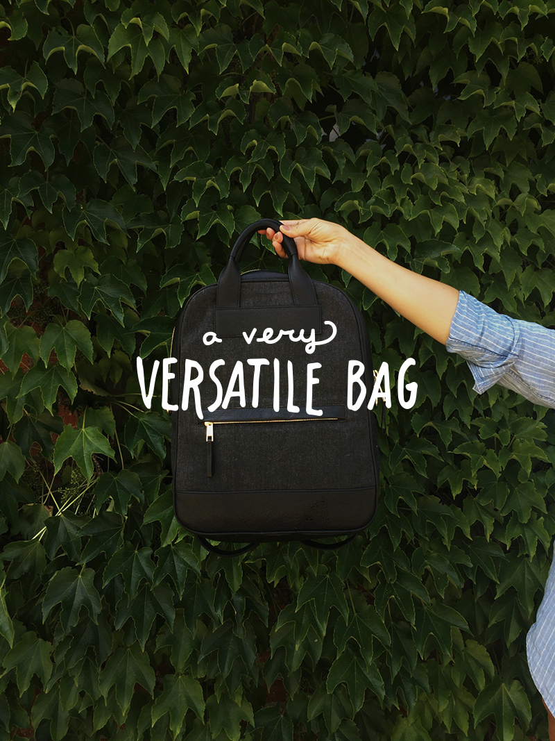 A Versatile Bag from Bartaile  |  The Fresh Exchange