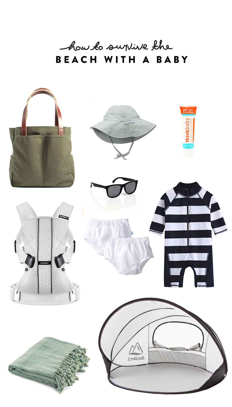 How to Survive the Beach with a Baby  |  The Fresh Exchange
