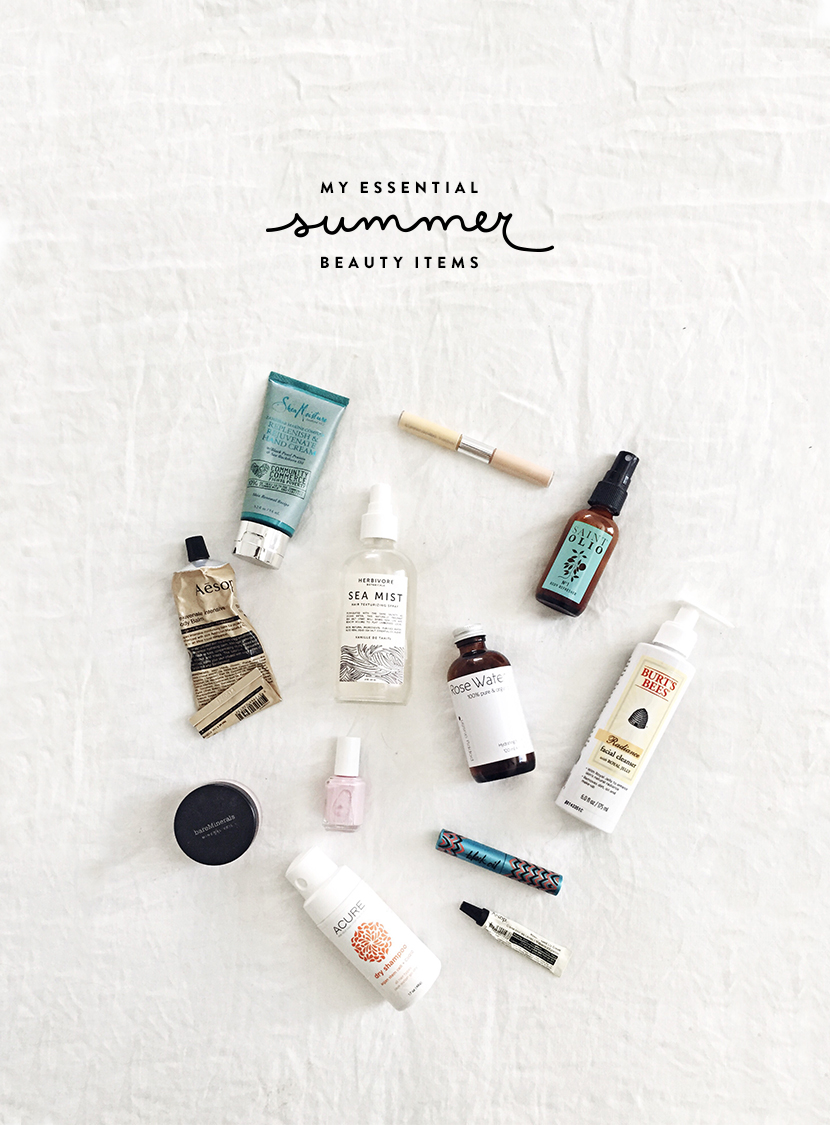 My Essential Summer Beauty Items  |  The Fresh Exchange