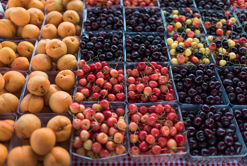 Berry Safety at the Farmers Market with the Michigan Farmers Market Association. More on The Fresh Exchange.