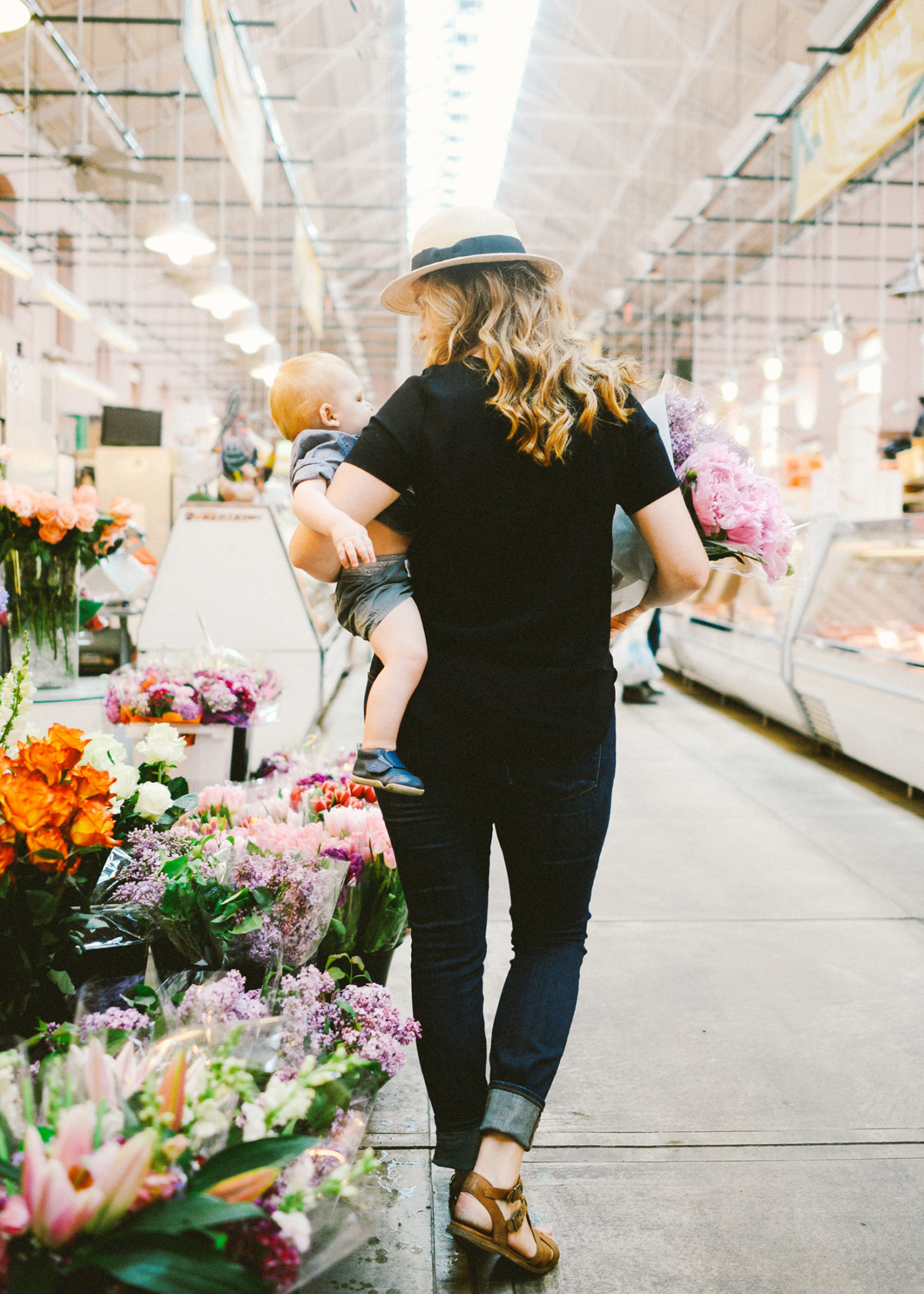 When we Bloom a post about finding our footing within changes and relizing blooming happens within the full current of our life. Read the full story from Hannah of The Art in Life on The Fresh Exchange today.