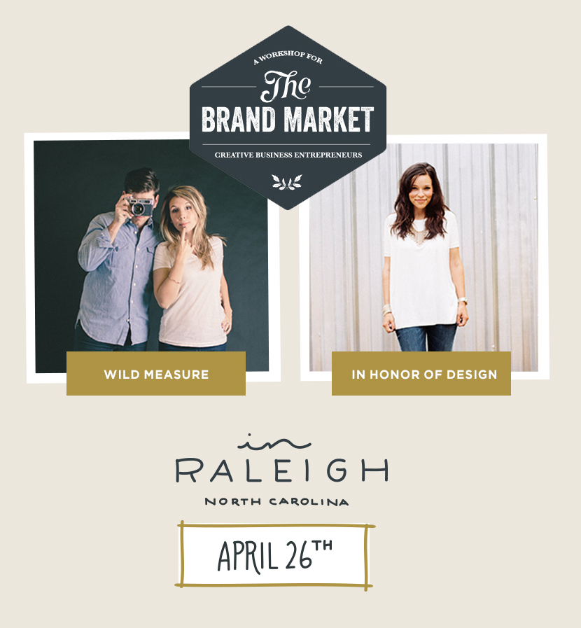Announcing: Brand Market Workshop for Creative Business Owners in Raleigh  |  The Fresh Exchange