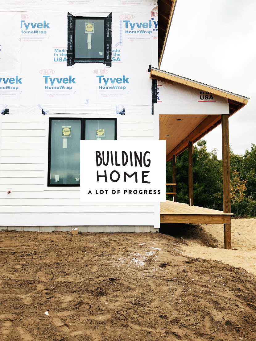 Building A Modern Farmhouse in Michigan. More on The Fresh Exchange with Megan Gilger.