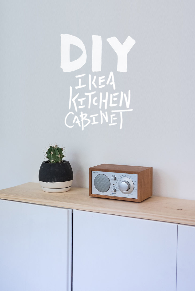 DIY Ikea Kitchen Cabinet
