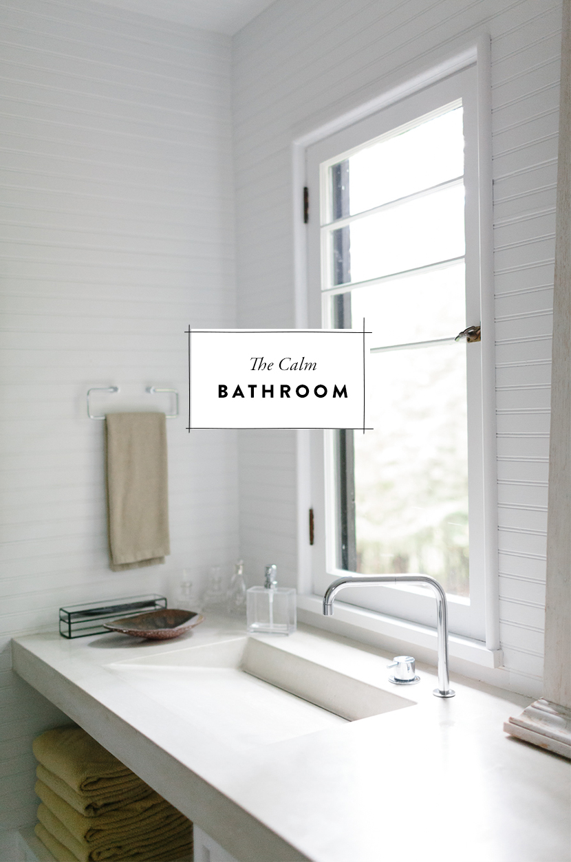 Calm Bathroom | The Fresh Exchange