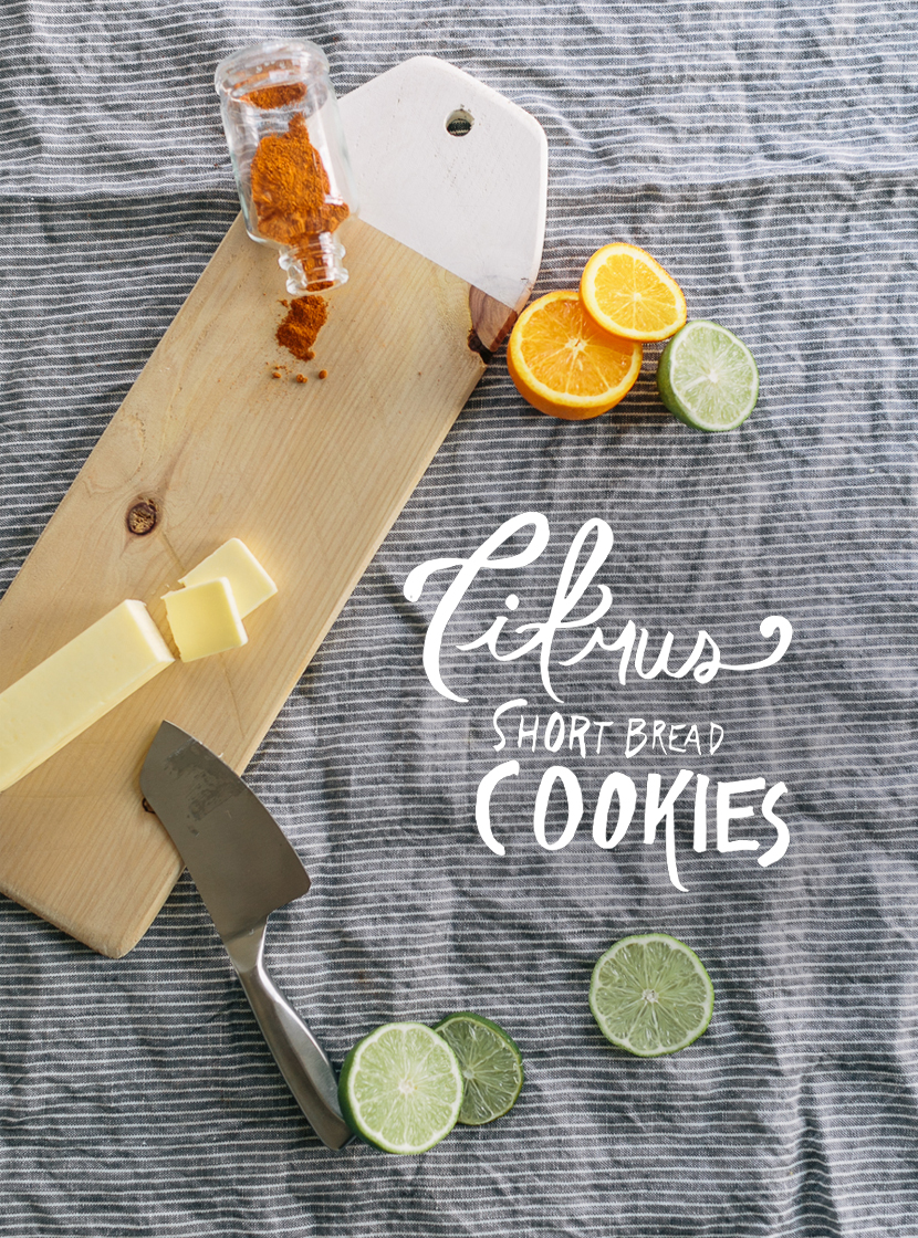 Citrus Short Bread  |  The Fresh Exchange
