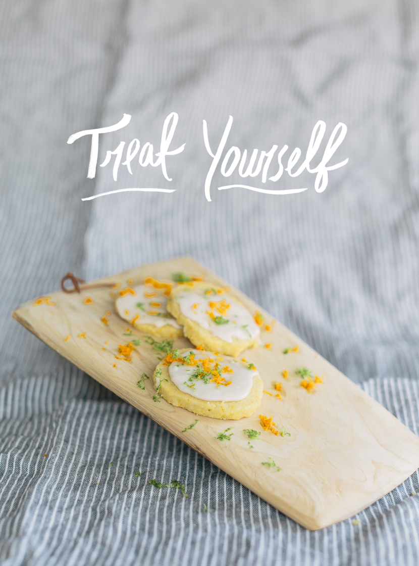 Citrus Short Bread  |  The Fresh Exchange