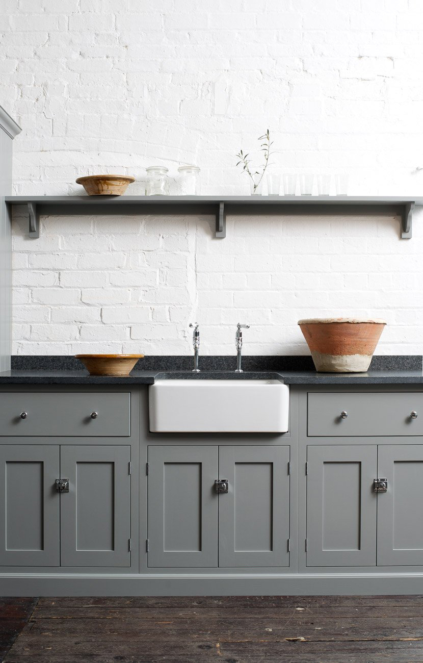 Colored Kitchen Cabinets | The Fresh Exchange