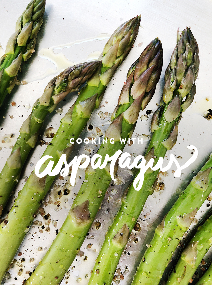 Cooking With Asparagus. How to and different ways. More on The Fresh Exchange.