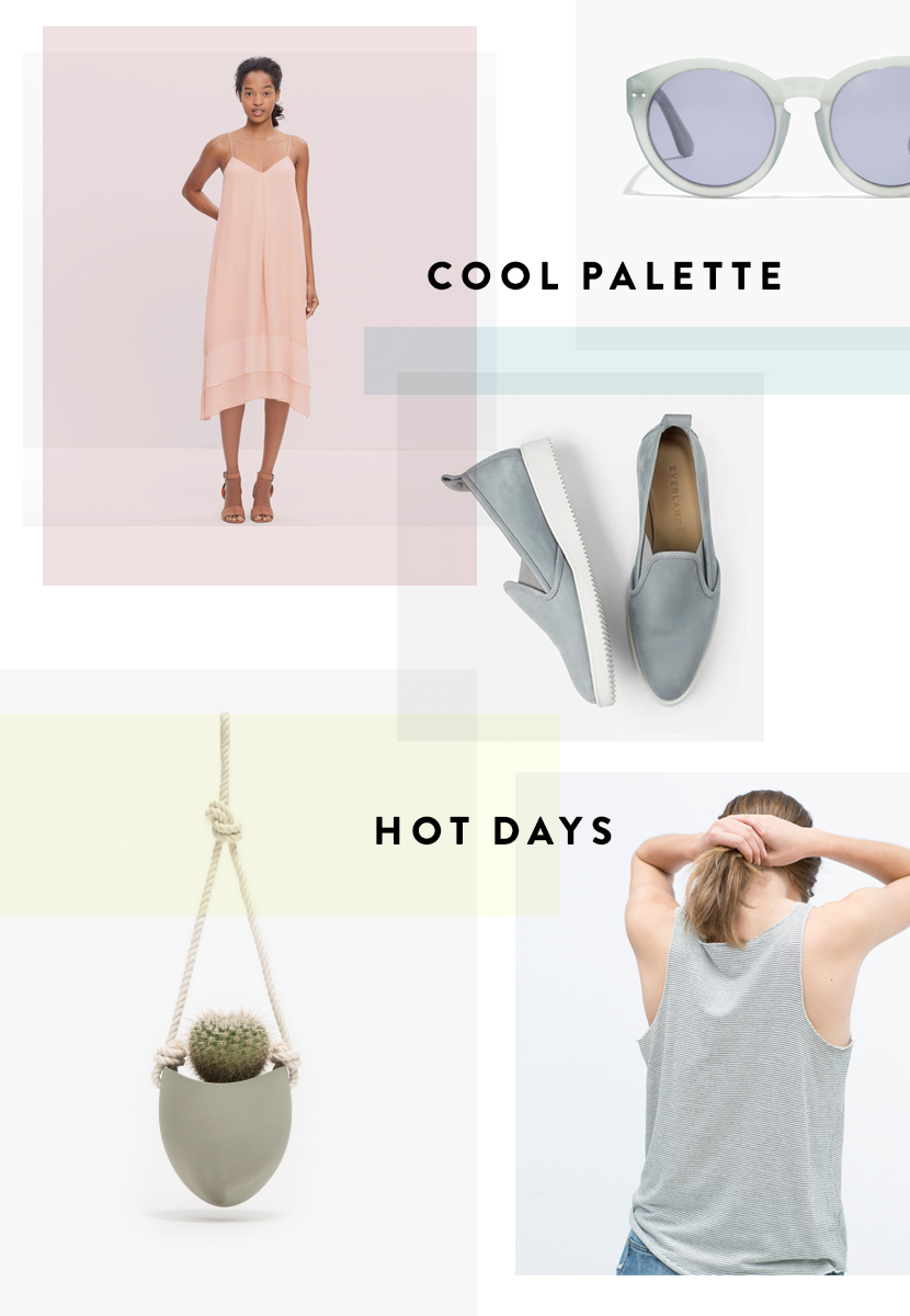 Cool Palette / Hot Days  |  The Fresh Exchange