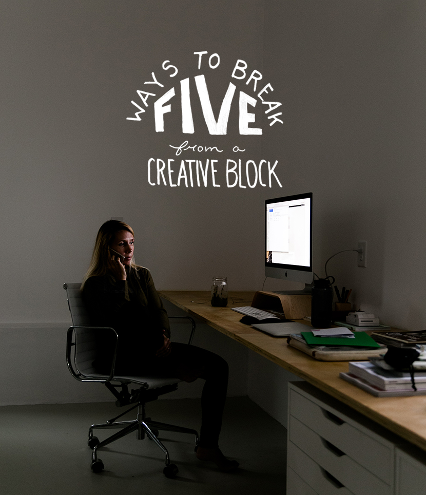 5 Ways to Break from A Creative Block | The Fresh Exchange