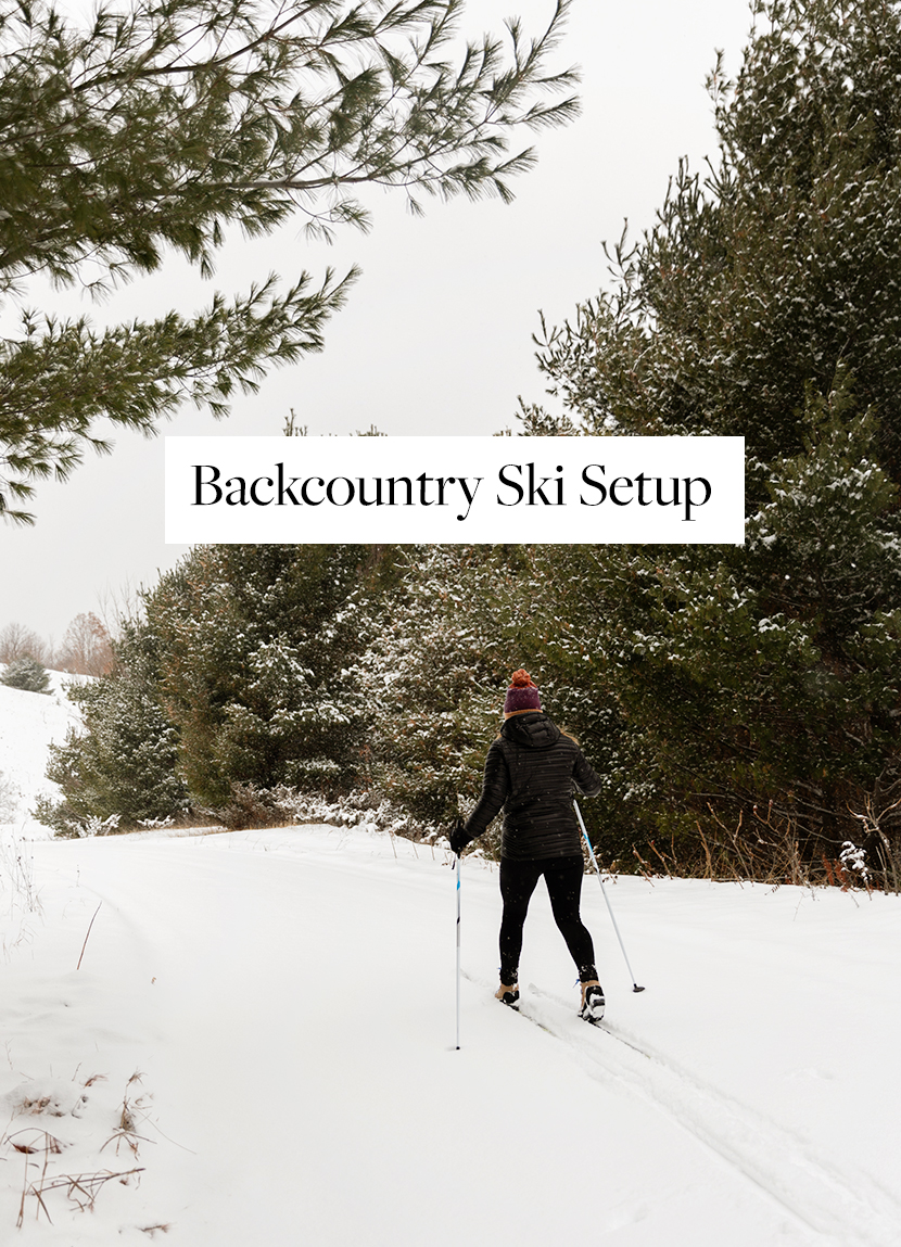 What we use for Cross Country Skiing