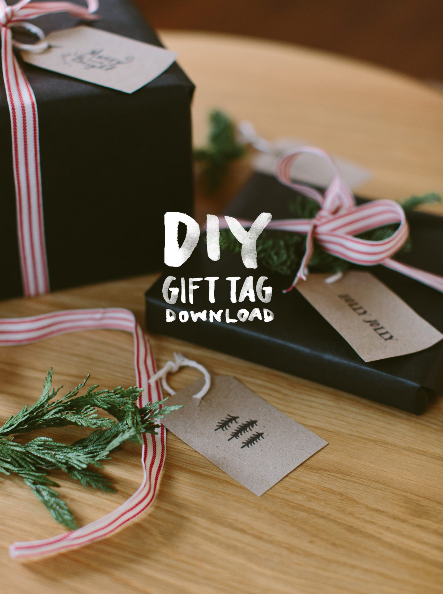 DIY Gift Tag Download | The Fresh Exchange