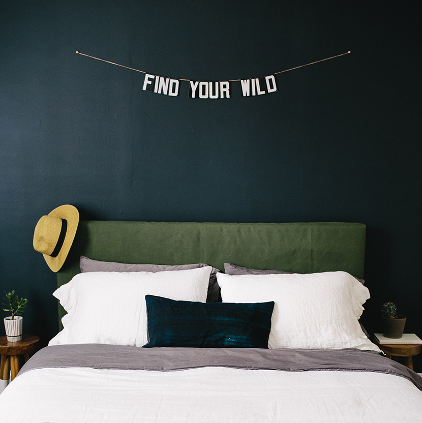 DIY Head board inspired by Ace Hotel | The Fresh Exchange