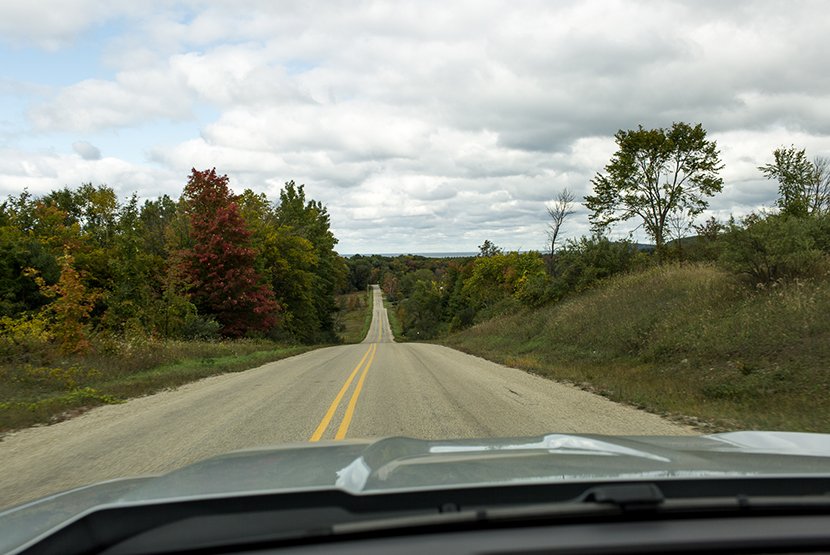 Driving M-22 in Michigan in the fall. What to do and where to go to get good eats, great drinks, and amazing views. View more on The Fresh Exchange