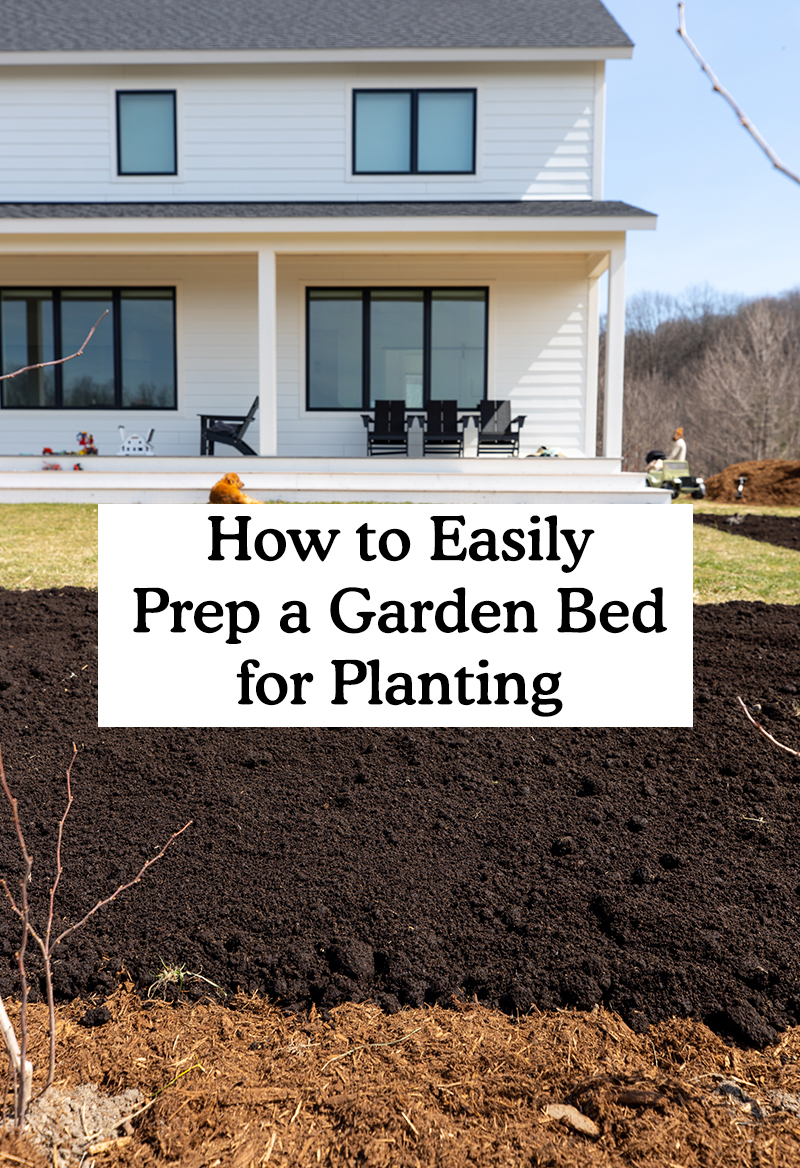 How to Easily Prep a Garden Bed for Planting