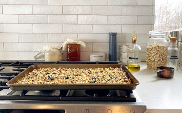 Easy Granola Recipe to make from Pantry Staples