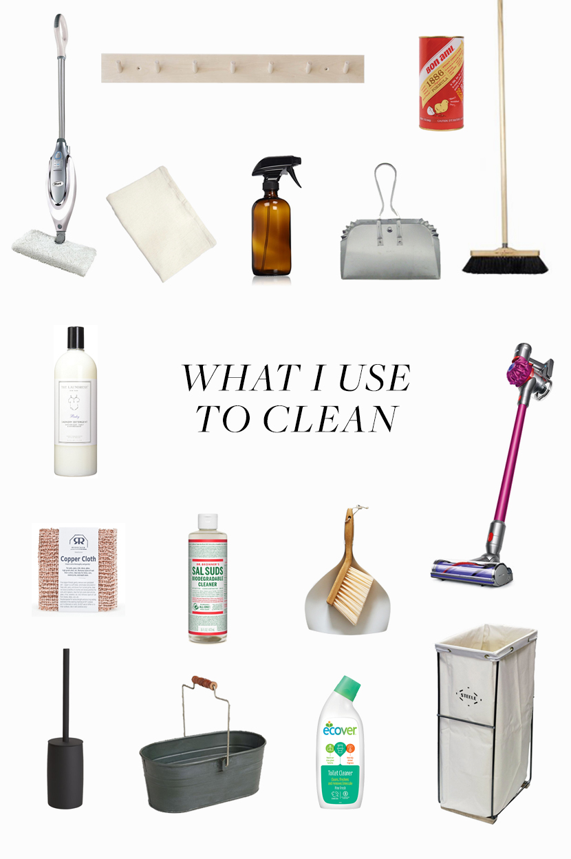 What I use for eco friendly cleaning at home | The Fresh Exchange