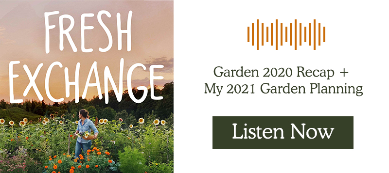 2020 Garden Recap on The Fresh Exchange