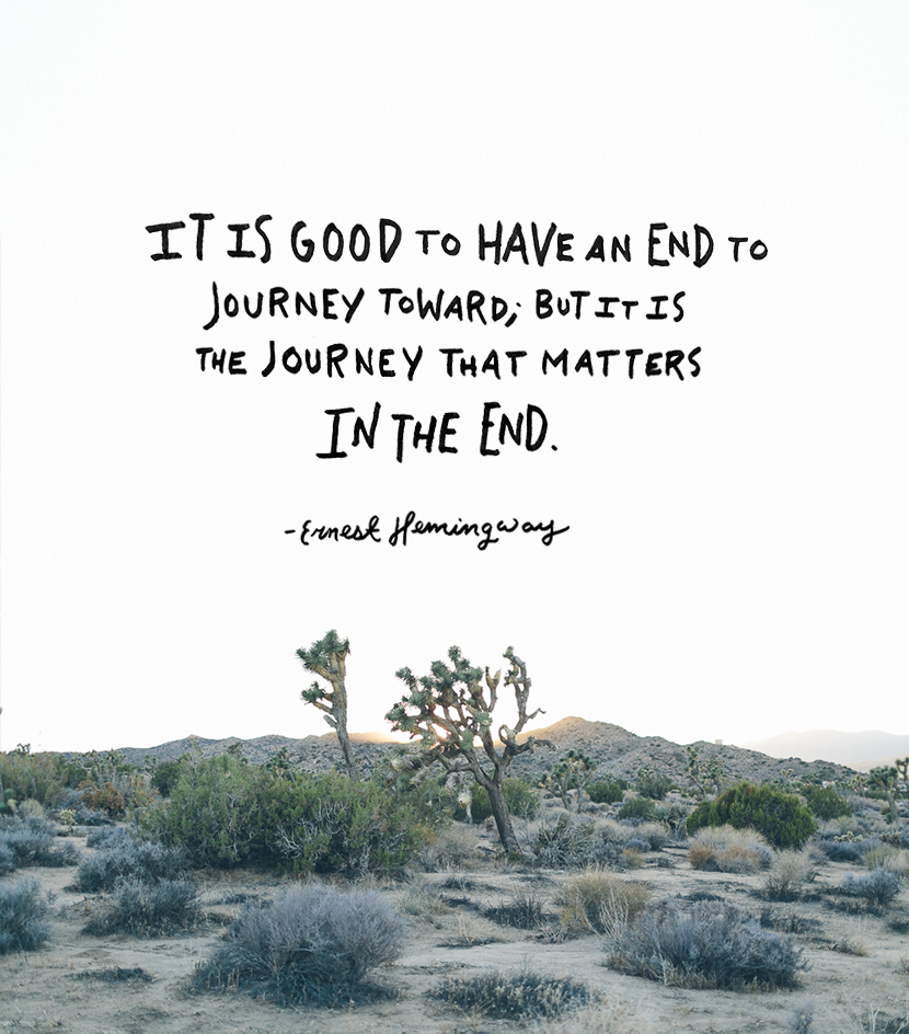 Travel Quote from Ernest Hemingway | The Fresh Exchange