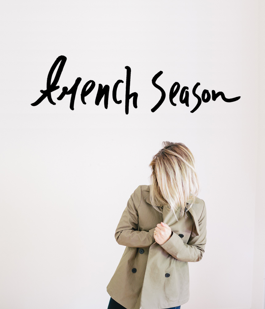 Trench Season with Everlane  |  The Fresh Exchange