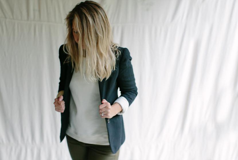 The Boyfriend Sweatshirt - 2 ways | The Fresh Exchange