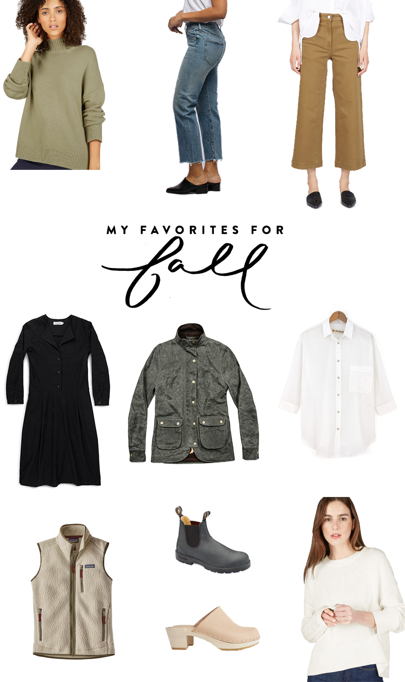 My favorites for fall for your wardrobe. More on The Fresh Exchange