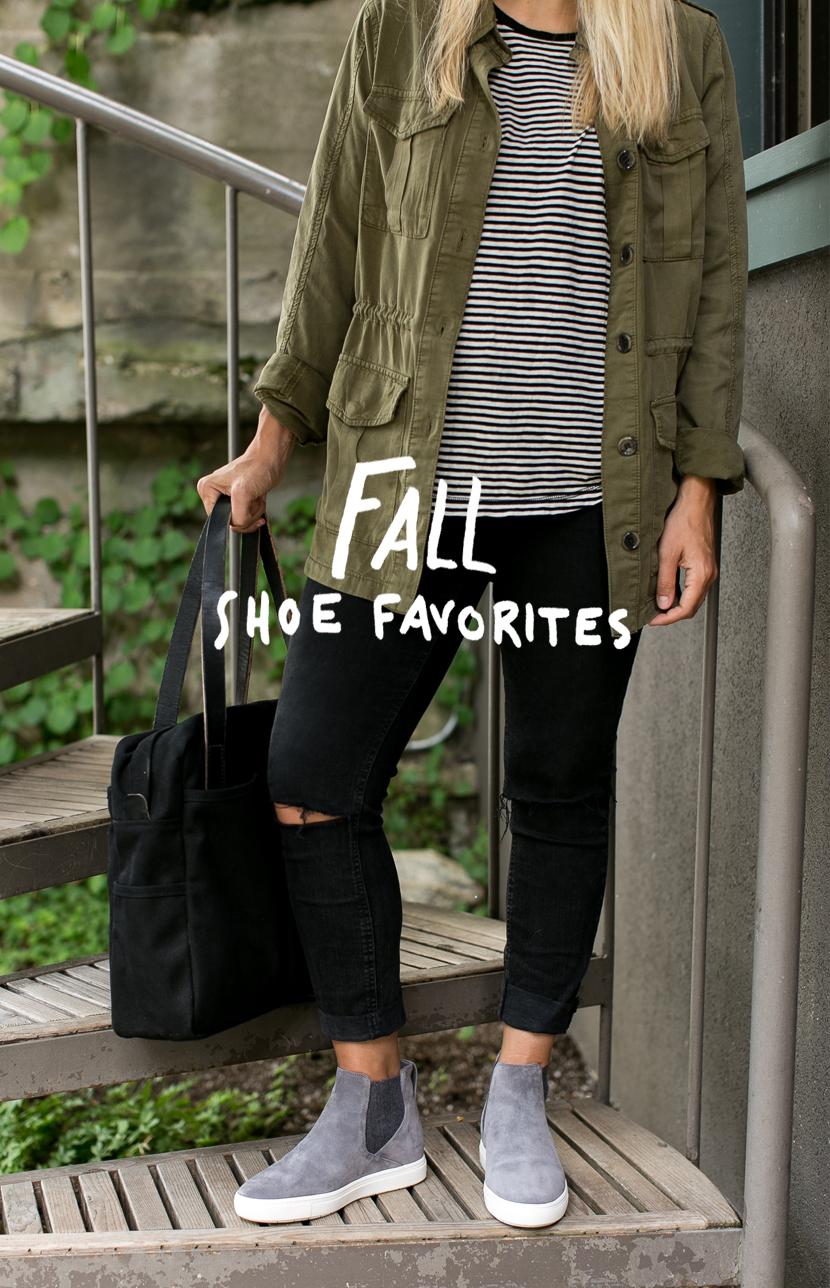 Fall Shoe Picks | The Fresh Exchange