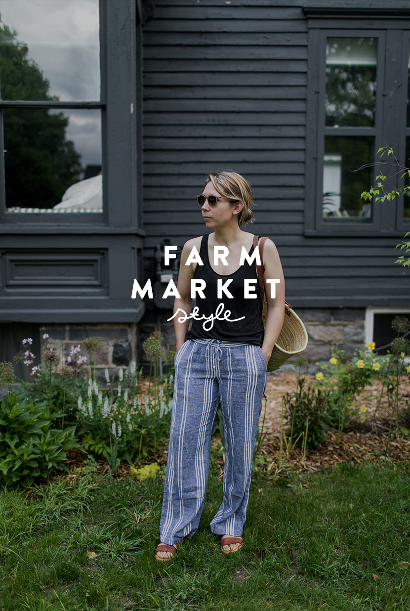 A look at what I wore to the farm market this week with my son in tow. More on The Fresh Exchange.