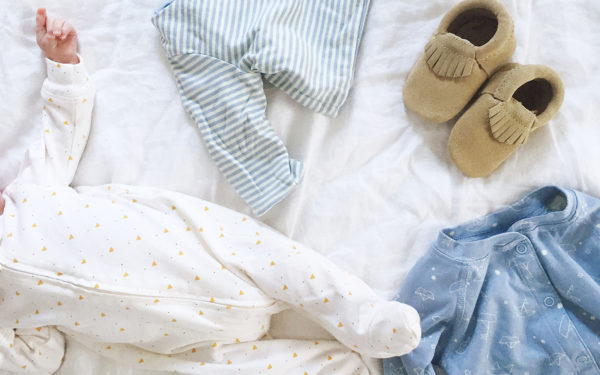 List of Items for Babies first 3-6 months on The Fresh Exchange. Minimalist List of Baby items.