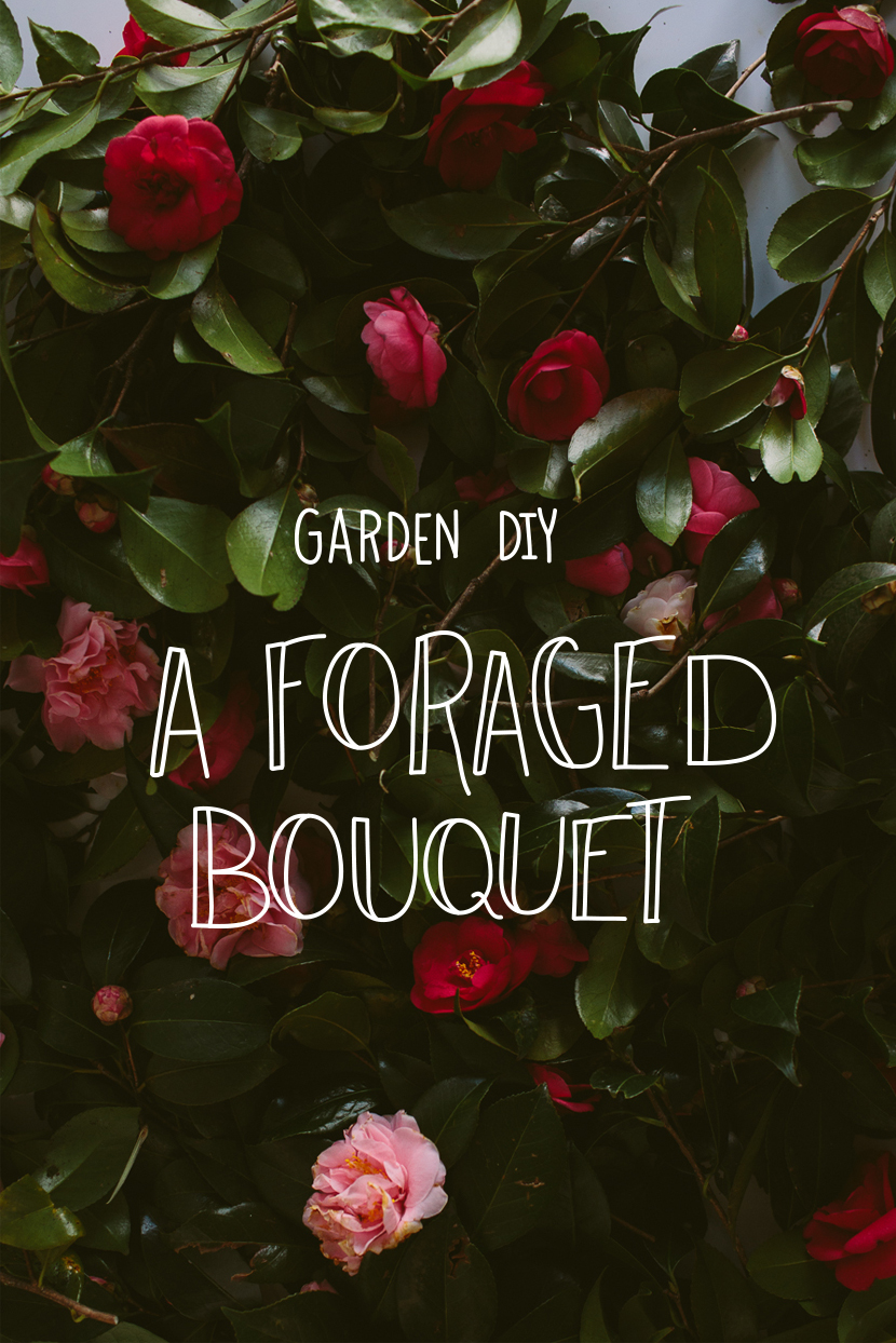 Garden DIY: Foraged Spring Bouquet  |  The Fresh Exchange