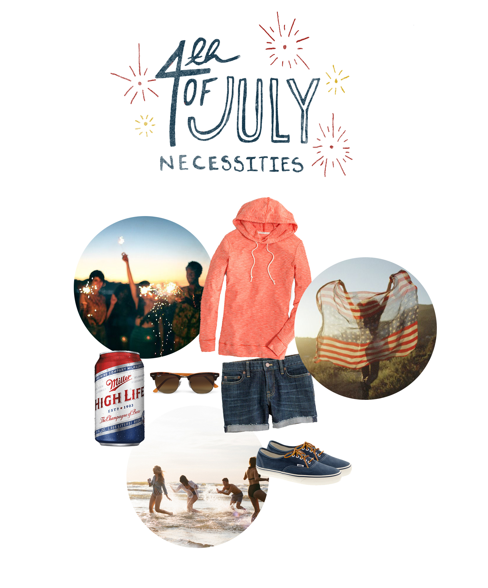 Fourth Of July Necessities  |  The Fresh Exchange
