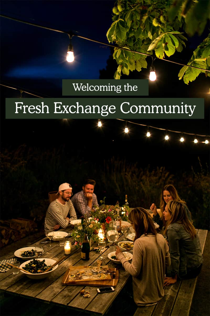 Fresh Exchange Community Launch