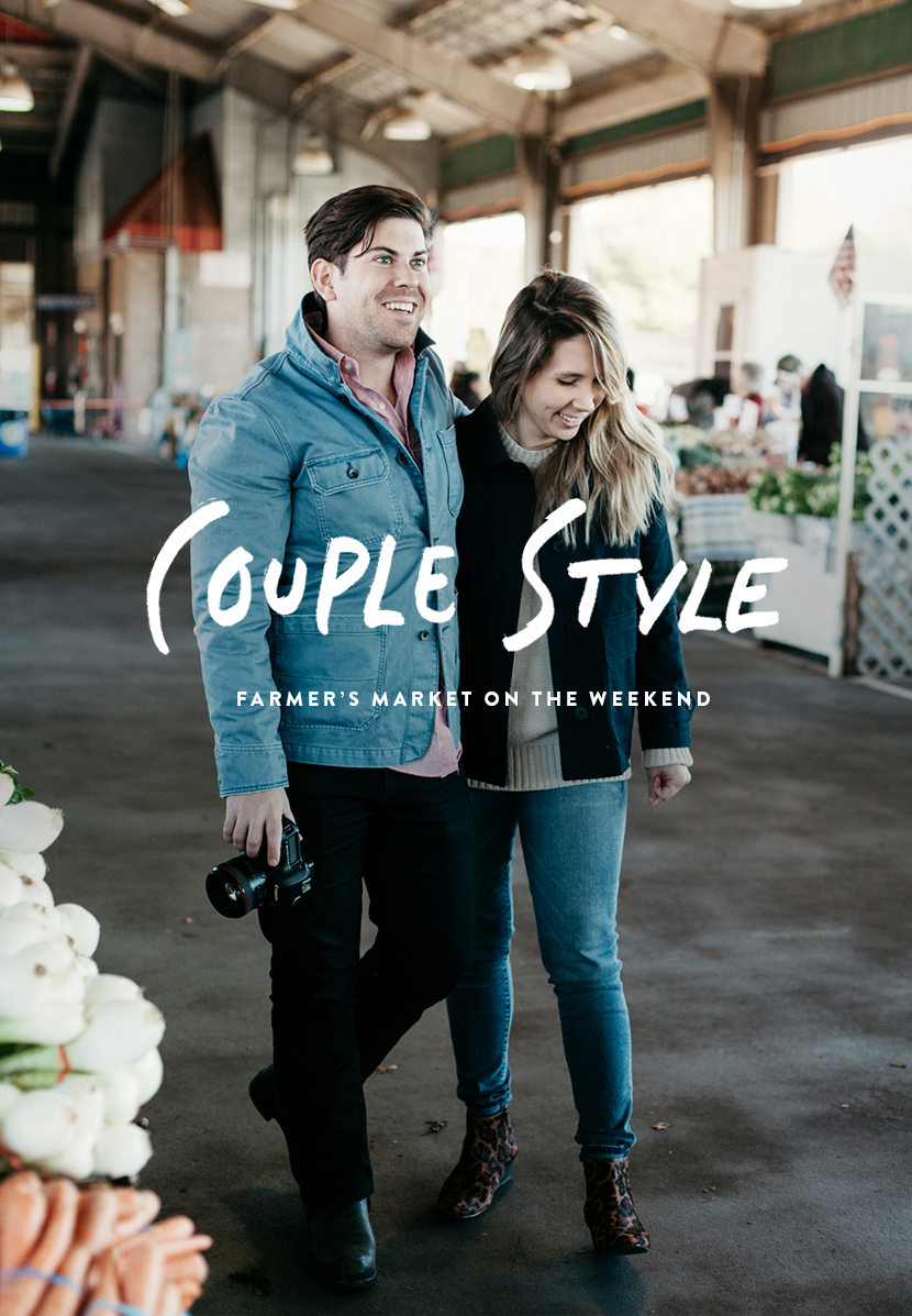 Couple style part 1 with gap styldby at the farmers market in raleigh the