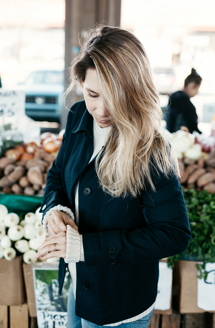Couple Style Part 1 with Gap #styldby at the Farmer's Market in Raleigh | The Fresh Exchange