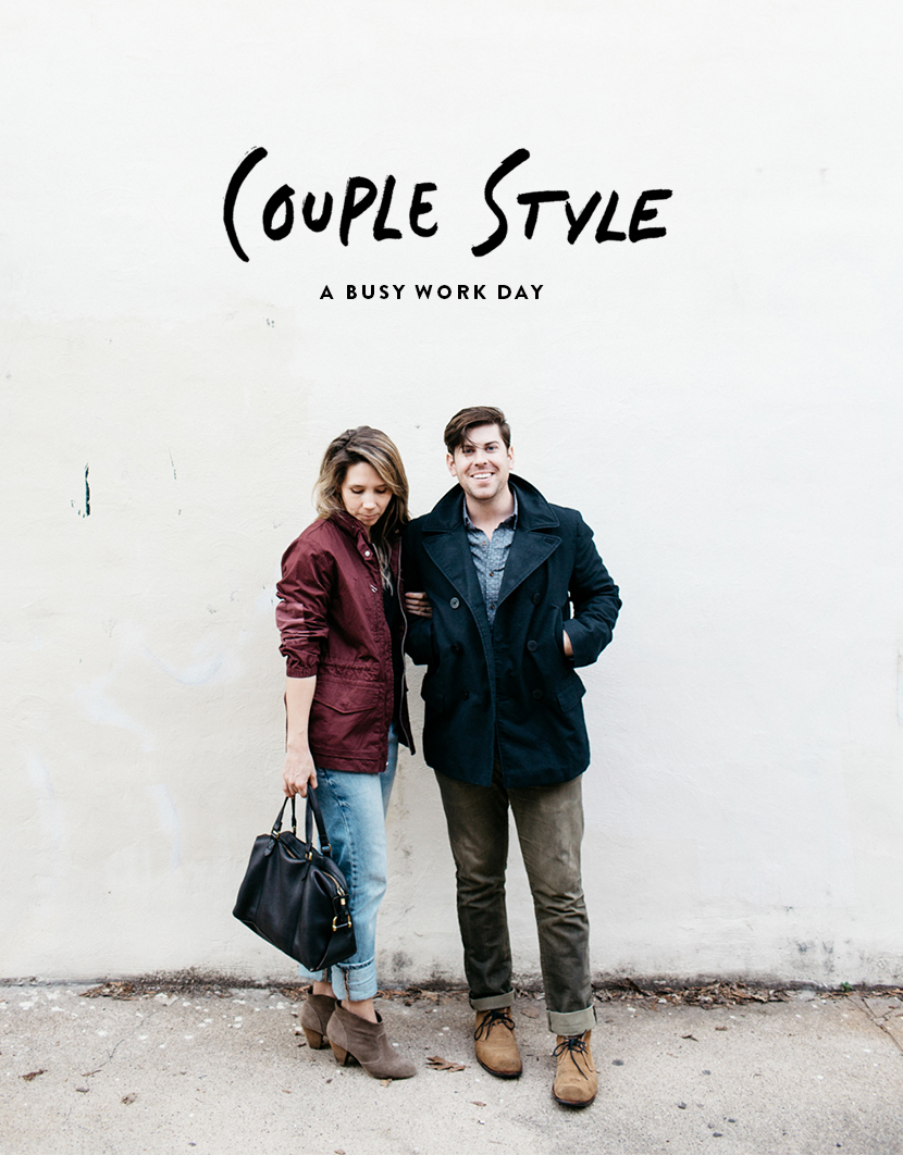 Couple style with gap the fresh exchange