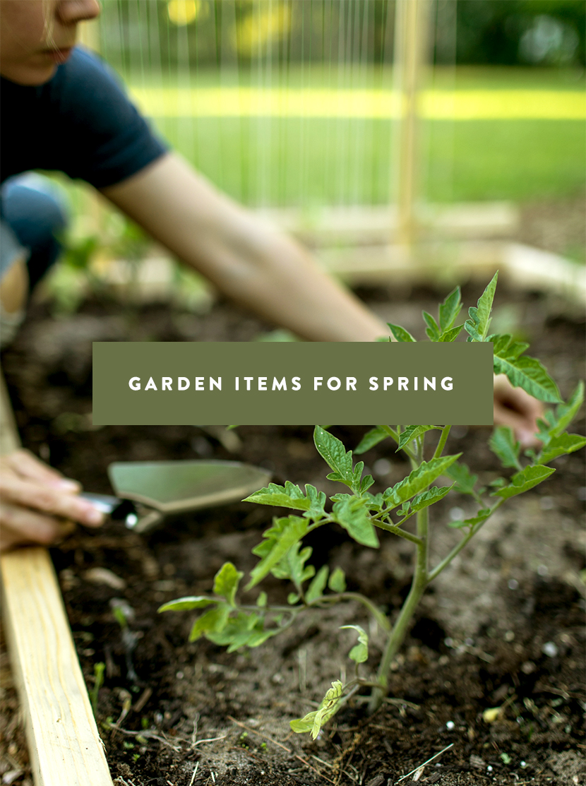 Some of my favorite garden items for Spring.