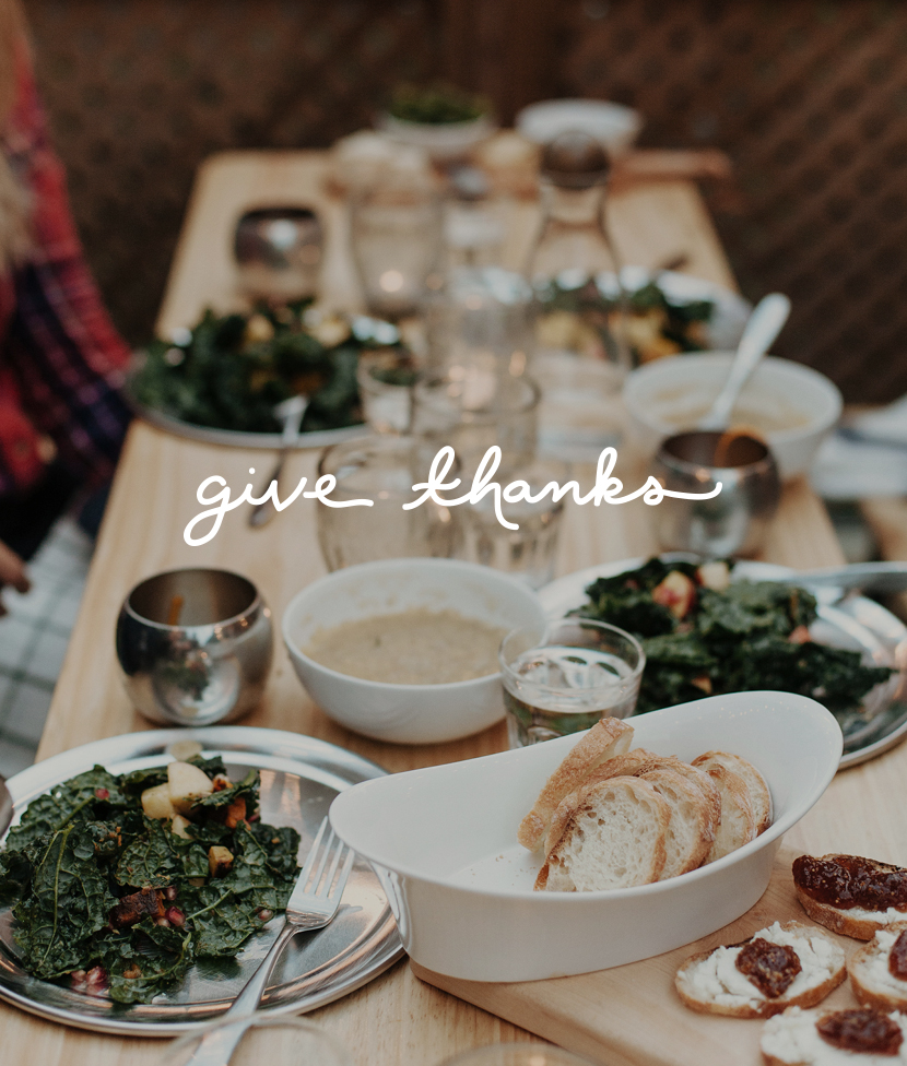 Give Thanks  |  The Fresh Exchange